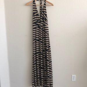 EUC Halter Maxi Dress SZ Large
